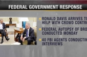 Fed government weighs response in Ferguson