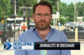 Journalists in the crosshairs in Ferguson
