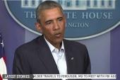 Assessing Obama's response to Ferguson