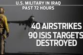 US airstrikes hammering ISIS