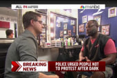 Chris Hayes visits a Ferguson barbershop