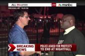 Keeping the peace in Ferguson