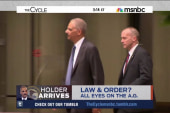 Will Holder visit ease tensions in Ferguson?