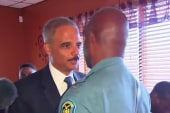 Holder to Ron Johnson: 'You are the man'