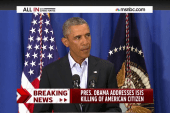 Obama responds strongly to execution of...