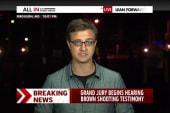 'Largely calm' in Ferguson