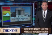Marriage equality suffers setback in Virginia