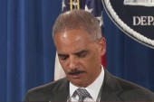 Holder seeks to provide calm in Ferguson
