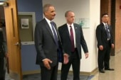 Holder meets with FBI to discuss Brown case