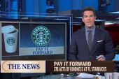 Starbucks customers pay it forward 378 times