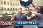 Ronan Farrow accepts ALS Ice Bucket Challenge