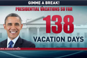 Right-wing slams Pres. Obama's vacation