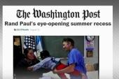 Is Sen. Rand Paul looking at 2016 run?