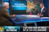 Nigeria cases reveal speed of Ebola spread