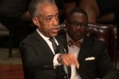 Rev. Al Sharpton delivers Michael Brown...