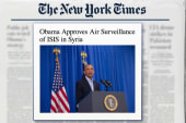 Obama approves air surveillance of ISIS