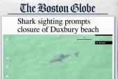 Great white shark sighting closes Mass. beach