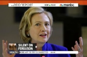 Big politicos remain silent on Ferguson