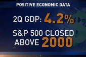 Positive growth for the US economy
