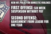 NFL issues new domestic violence policy