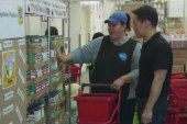 Volunteers work 100M hours at food pantries