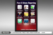 Students develop app to curb police brutality