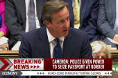 Cameron outlines new UK security measures