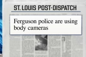 Ferguson police using body cameras
