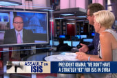 Obama offers no strategy on ISIS