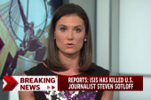Reports of Steven Sotloff's execution by ISIS