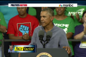 Obama continues his minimum wage fight
