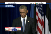 Joe: Obama must act strongly against ISIS