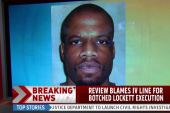 Report: IV line blamed for botched execution