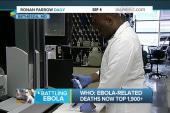 Human testing as Ebola toll tops 1,900