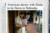 US doctor with Ebola flying to Nebraska