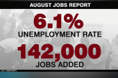 August jobs report 'weaker' than expected