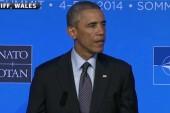 President Obama speaks at NATO in Wales