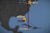 Unresponsive US plane crashes into ocean