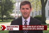 Obama delays immigration action until Nov.