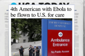 Fourth American with Ebola to return to US