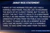 Janay Rice breaks her silence