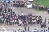 New protests near Ferguson, Missouri