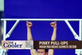 New record set for pinky pull ups