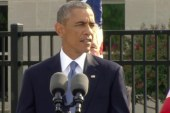 Pres. Obama: 'We do not give in to fear'