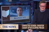Escaped school shooter recaptured