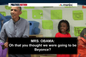 Obama upstaged by Beyonce