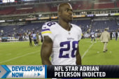NFL star charged with child abuse