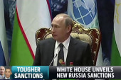 White House unveils new Russia sanctions