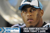NFL player Greg Hardy deactivated from game