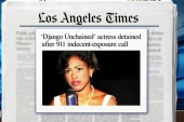 Actress: I was detained by LAPD over PDA